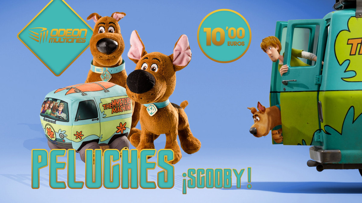 Scooby ya en cines!